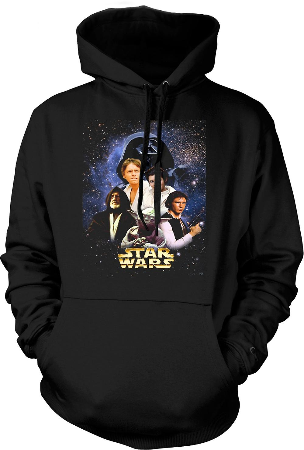 Mens Hoodie - Star Wars - Movie - Poster