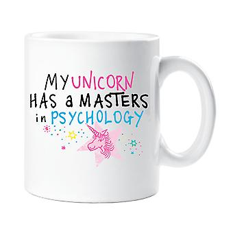 My Unicorn Has A Masters In Psychology Mug