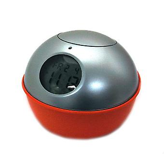 Mr Dome Digital Sensor Controlled Orange Calendar Clock CK152