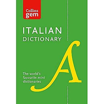 Collins Italian Dictionary Gem Edition: 40,000 Words and Phrases in a Mini Format - Collins Gem