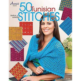 50 Tunisian Stitches