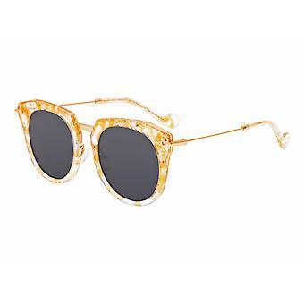 Bertha Aaliyah polarisierte Sonnenbrille - Pfirsich Schildkröte/schwarz