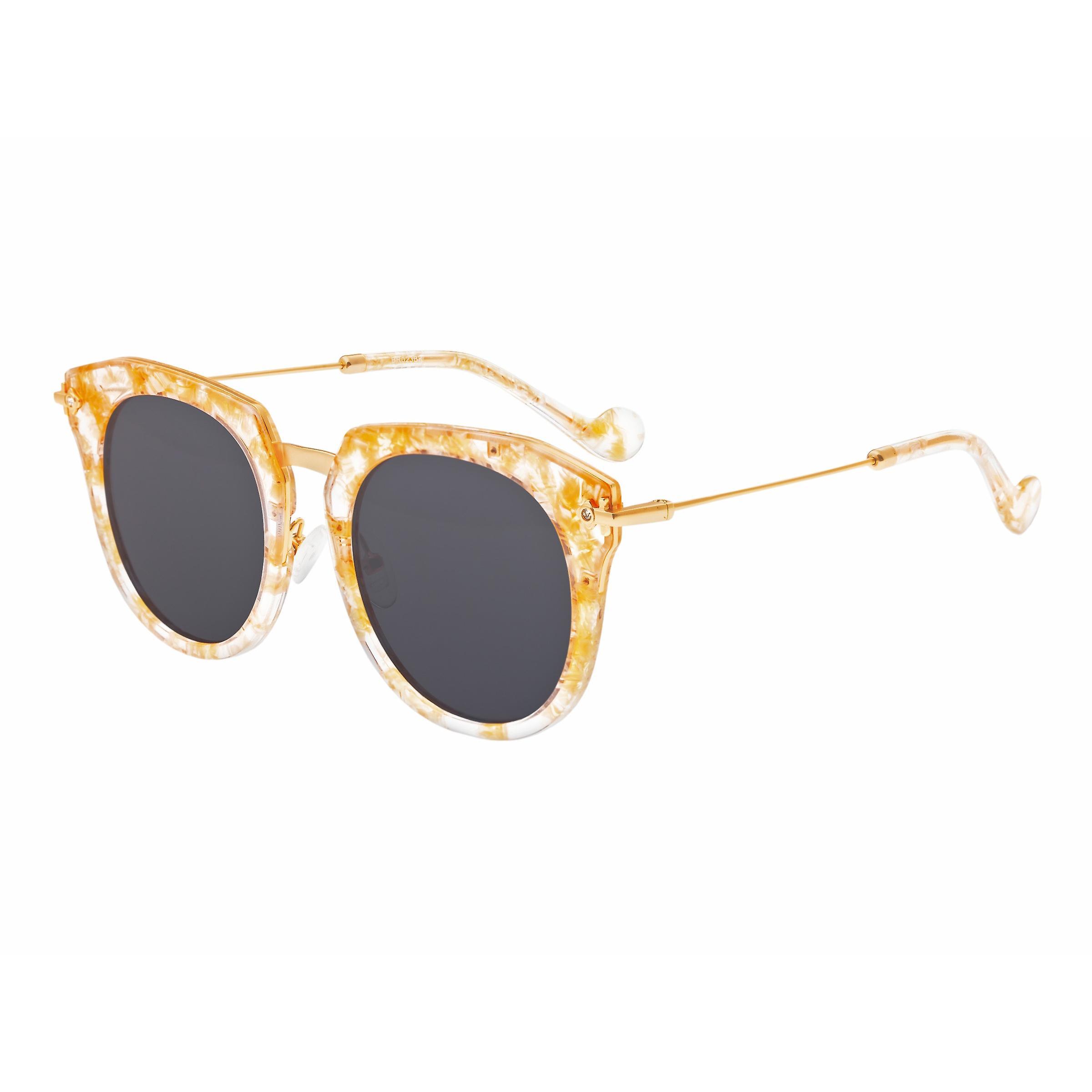 Bertha Aaliyah Polarized lunettes de soleil - Peach Tortoise noir