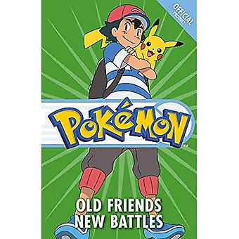 Official Pokemon Fiction: Old Friends New Battles: Book 12