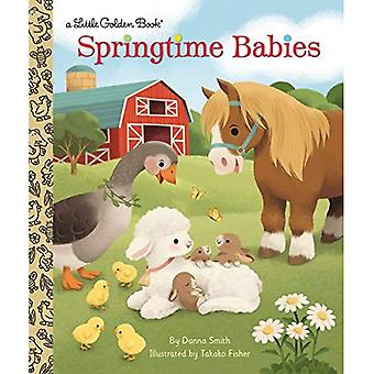 Bébés de printemps (petit livre d'or)