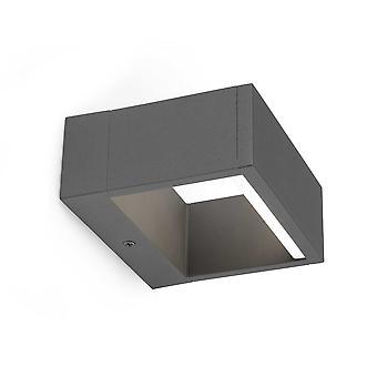 Faro - Alp donker grijs LED buiten muur licht FARO74450