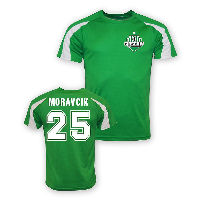 Lubo Moravcik Celtic Sports Training Jersey (green)