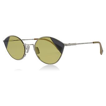 Fendi FF0342/S B1Z Silver / Gold FF0342/S Cats Eyes Sunglasses Lens Category 1 Size 51mm