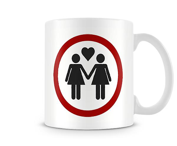 Two Women Love Mug
