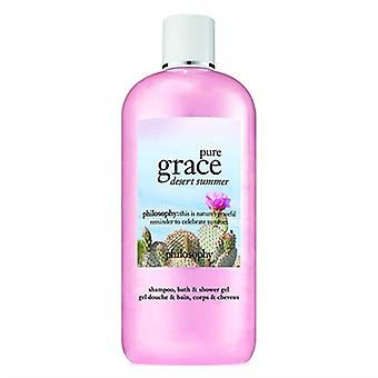 Philosophie Pure Grace Wüste Sommer Shampoo, Bad & Dusche Gel 16oz / 480ml