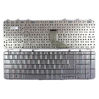 HP Pavilion dv7-1067ef Silver German Layout Replacement Laptop Keyboard