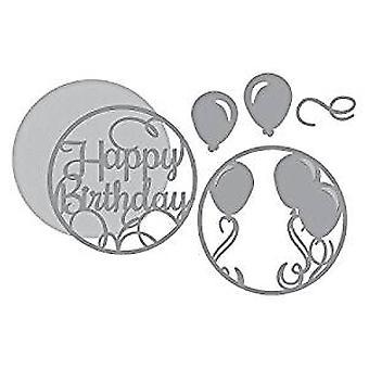 Spelllbinders Layered Happy Birthday Dies (S5-345)