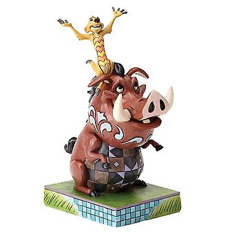 The Lion King Timon and Pumbaa Carefree Cohorts Figurine