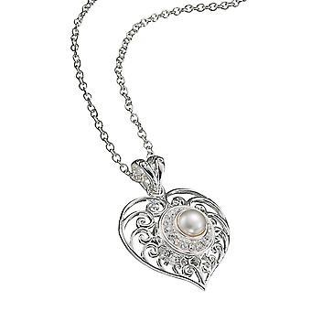 KAMELEON JewelPop Filigree Heart Silver Pendant KP31