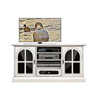 Black plexiglass Tv Cabinet