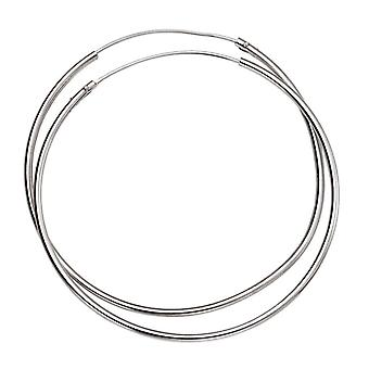 925 Sterling Silver Hoops 30 & 50 Mm