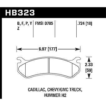Hawk performance HB323Y. 724 LTS