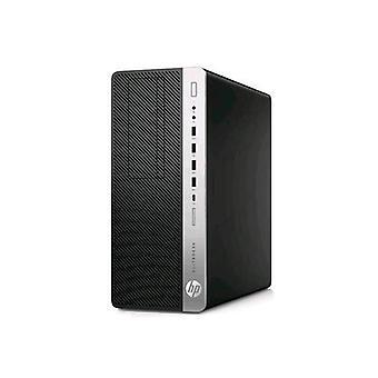 Hp elitedesk 800 g4 torre pc i5-8500 3ghz ram 8gb-256gb ssd-windows 10 profesional negro / plata