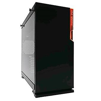 Inwin 101 kabinet Midi toren gehard glas zwart