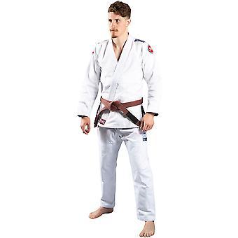 Scramble Athlete 4 Midweight 450gsm Brazilian Jiu-Jitsu Gi - White
