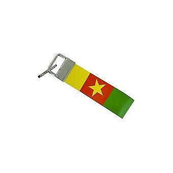 Porte Cles Clefs Voiture Moto Bande Tissu Drapeau Maison Tuning Cameroune