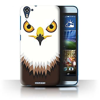 STUFF4 Case/Cover for HTC Desire 826/Hawk/Eagle/Animal Faces