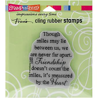 Stampendous Cling Rubber Stamp 4.75