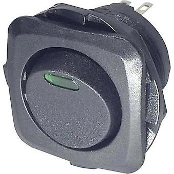 Toggle switch 250 Vac 10 A 1 x Off/On SCI R13-135L-02 GREEN latch 1 pc(s)