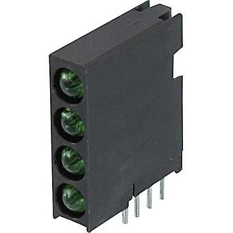 LED component Green (L x W x H) 16.8 x 14.35 x 4.32 mm Dialight