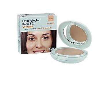 Isdin Fotoprotector Spf 50 + Compact Arena Oil Free