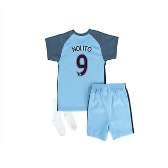 2016-17 Manchester City Home Baby Kit (Nolito 9)