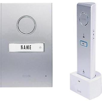 Door intercom Radio Complete kit m-e modern-electronics 41063 Detached Silver, White