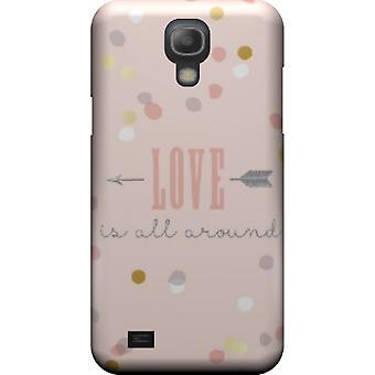 Love is all around mate cover for Galaxy S4 mini