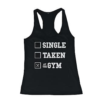 Work Out Tank Top - At the Gym - Cute Workout Lazy Tanktop, Gym Clothes