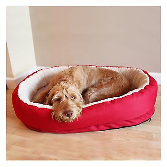 40 Winks Orthopedic Bed Red 66cm (26