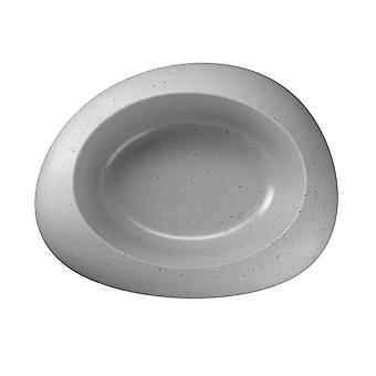 Ciottoli Bowl Light Grey Extra Large 34.5x27x8.5cm