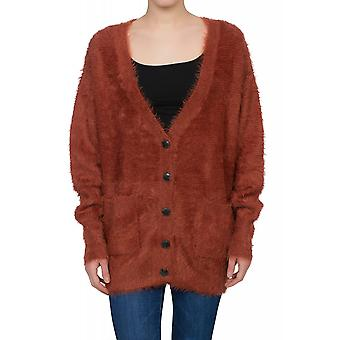 Lee Knitted Jacke Damen Cardigan Rot L52LRMMU
