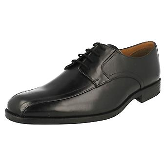 Herren Clarks formale Lace Up Schuhe Bakra Himmel