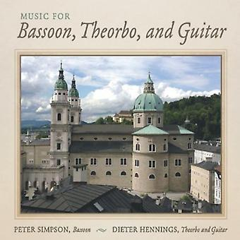 Peter Simpson - Music for Bassoon, Theorbo, and Guitar [CD] USA import