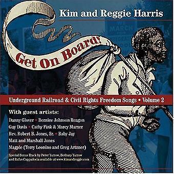 Kim Harris & Reggie - få på bord-sange af underjordiske [CD] USA importen