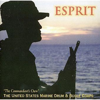 U.S. Marine Band Drum & Bugle Corps - Esprit [CD] USA import