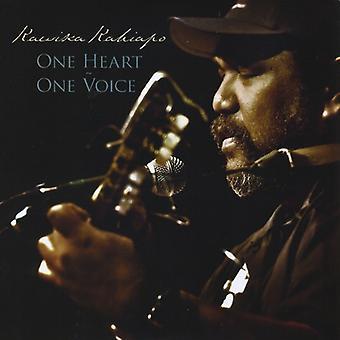 Kawika 'David' Kahiapo - One Heart One Voice [CD] USA import