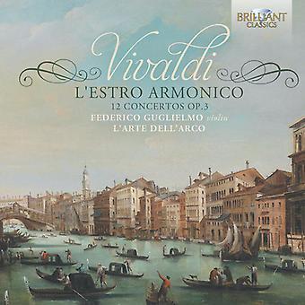 Vivald / Guglielmo / Larte Dellarco - import USA Lestro Armonico-12 minusy Op. 3 [CD]