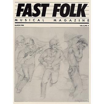 Fast Folk Musical Magazine - Vol. 2-Fast Folk Musical Magazine (3) [CD] USA import