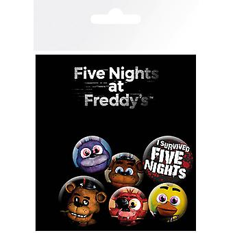 Fem nætter på Freddy's Mix Badge pakke