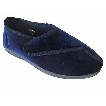 New Ladies Coolers Classic Warm Plush With Touch Fastener Panel Slipper W326