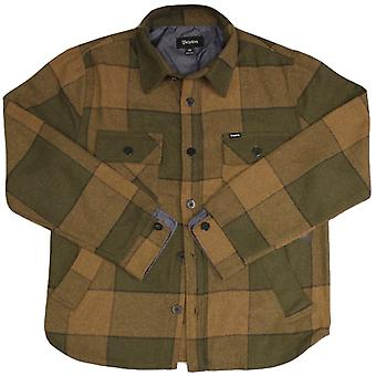 Brixton Roth Jacket Green Plaid