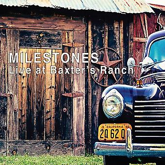 Milestones - Live at Baxters Ranch [CD] USA import