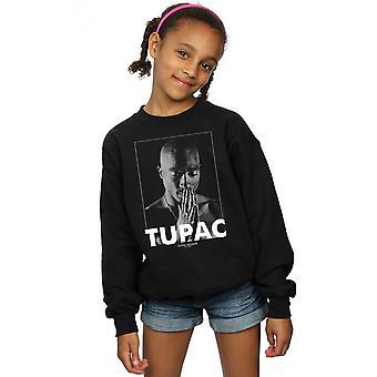 2Pac Girls Tupac Shakur Praying Sweatshirt