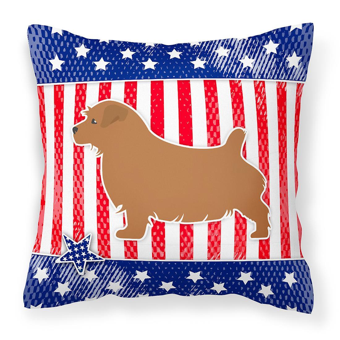 Oreiller Décoratif Terrier Tissu Usa Norfolk Patriotique ZPkTXiOu